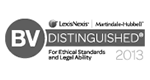 LexisNexis® | Martindale-Hubbell® | BV DISTINGUISHED - For Ethical Standards and Legal Ability